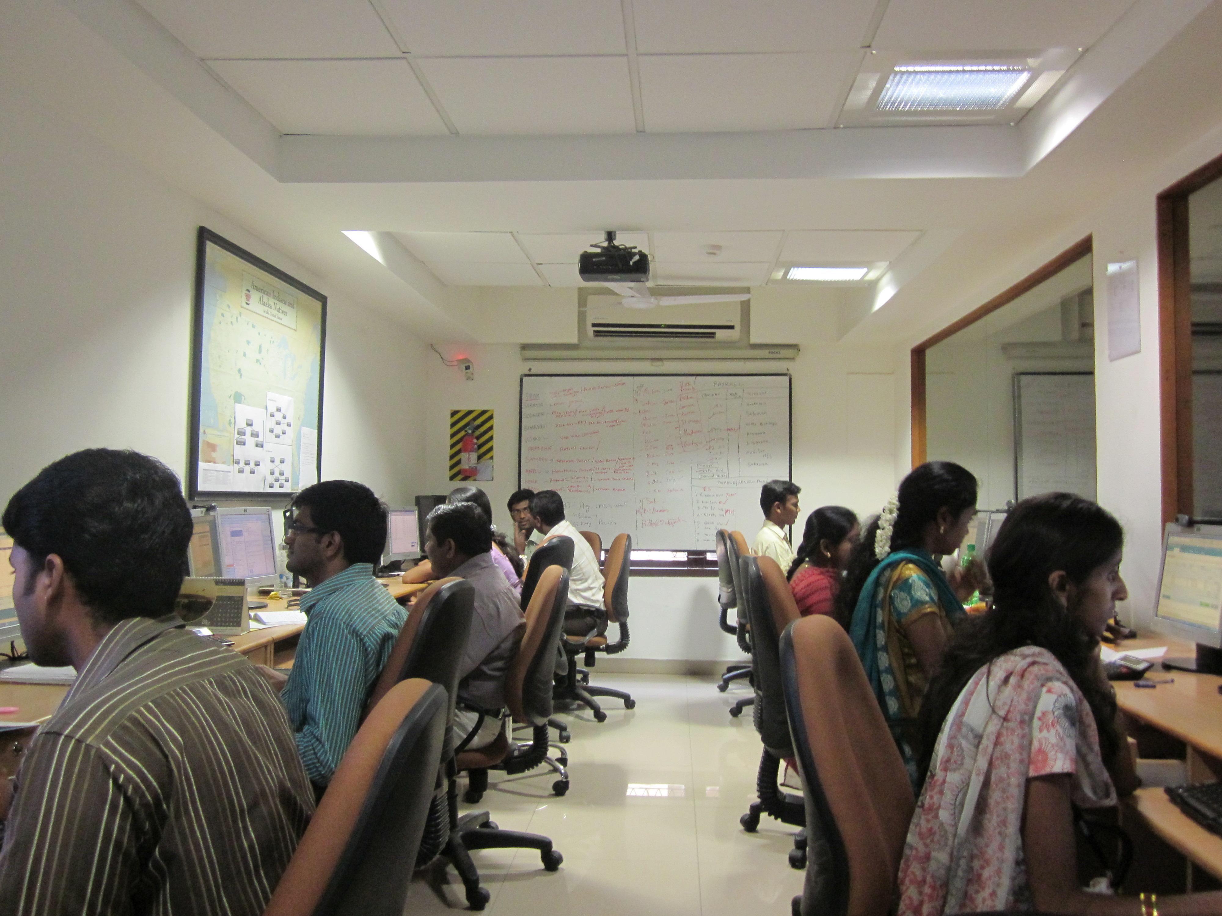 Inside the Vitae office